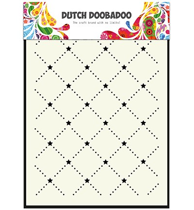 Dutch Doobadoo - Maskingstencil - Screen of Stars - 470.715.031
