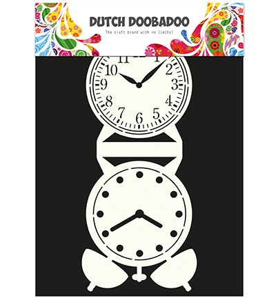 Dutch Doobadoo - Card Art - Clock - 470.713.505