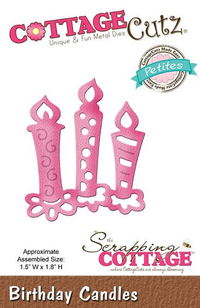 Cottage Cutz - Die - Birthday Candles - CCP-006