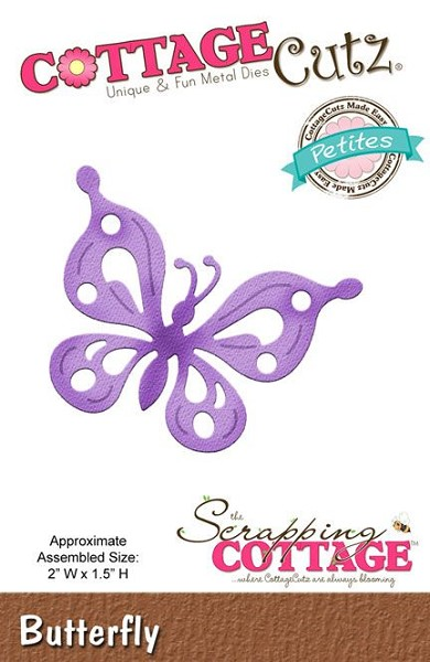 Cottage Cutz - Die - Butterfly - CCP-007