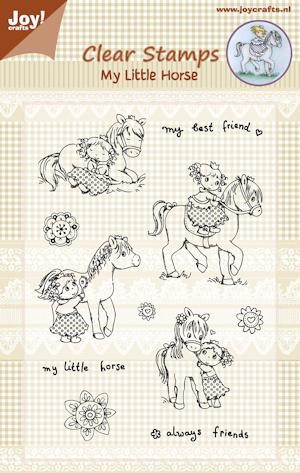 Joy! crafts - Clearstamp - My Little Horse - 6410/0332