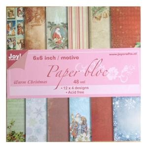 Joy! crafts - Paperpack - Warm Christmas - 6011/0210