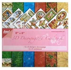 Joy! Crafts - 3D Decoupage + cardstock - 6013/0699