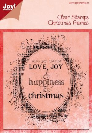 Joy! crafts - Noor! Design - Clearstamp - Christmas Frames - 6410/0115