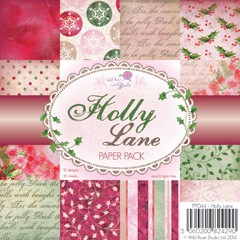 Wild Rose Studio`s - Paperpack - Holly Lane - PP044