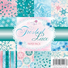 Wild Rose Studio`s - Paperpack - Frosted Lace - PP043