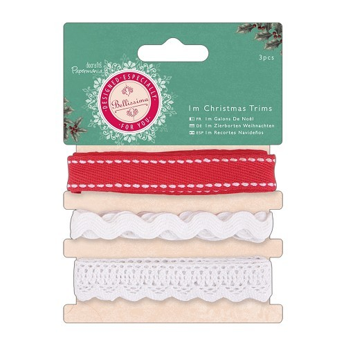 Papermania - Ribbon - Bellissima Christmas - PMA358902
