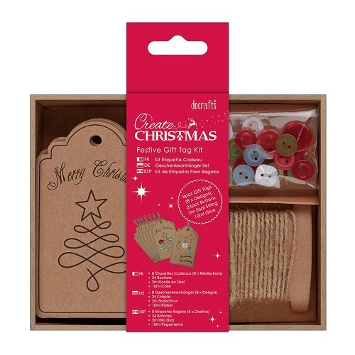 Papermania - Labels: Festive Gift Tag Kit