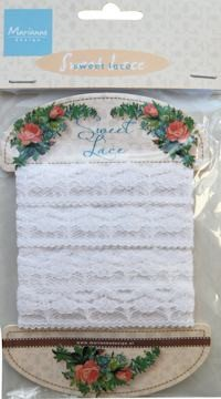 Marianne Design - Sweet Lace - Flower - JU0935