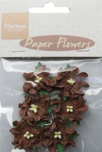 Marianne Design - Paper flowers: Dark brown - RB2230