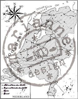 Marianne Design - Clearstamp - Map of Holland - CS0911
