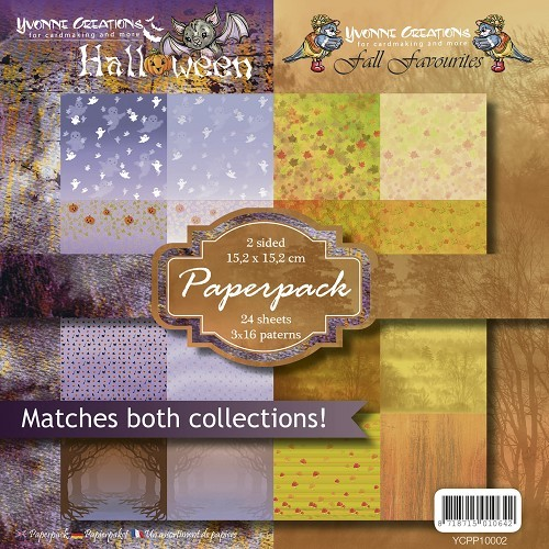 Yvonne Creations - Paperpack - Halloween & Fall - YCPP10002