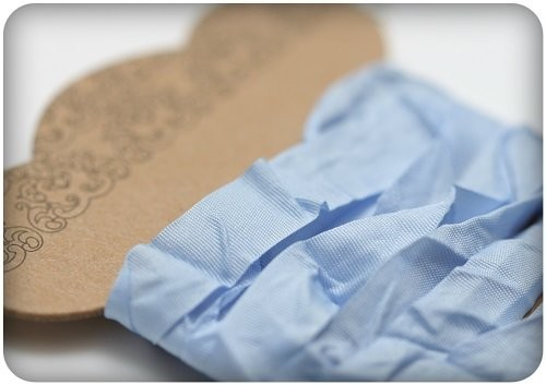 ScrapBerry`s - Shabby Ribbon: Light Blue - SCB510115