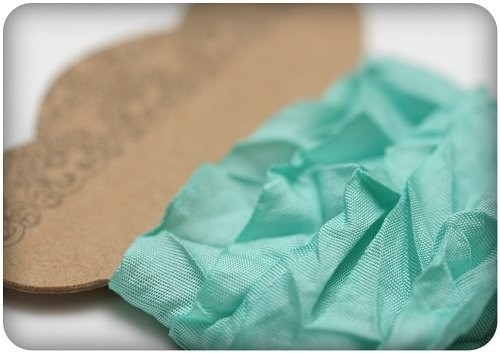 ScrapBerry`s Shabby Ribbon - Aquamarine