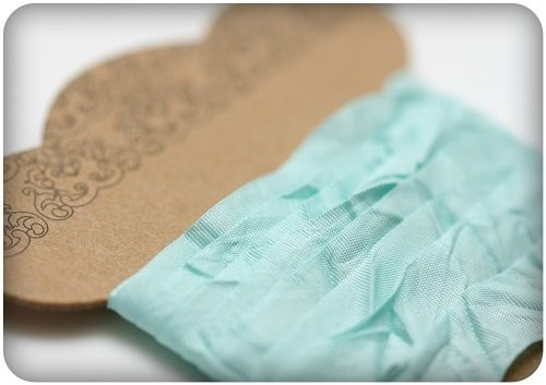 ScrapBerry`s - Shabby Ribbon: Tiffany - SCB510108