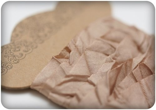 ScrapBerry`s - Shabby Ribbon: Light Brown - SCB510107