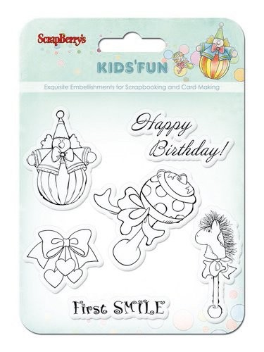 ScrapBerry`s - Clearstamp - Kids`Fun - SCB4901012b
