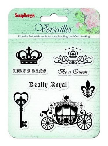 ScrapBerry`s - Clearstamp - Versailles - Like A King - SCB4901003b