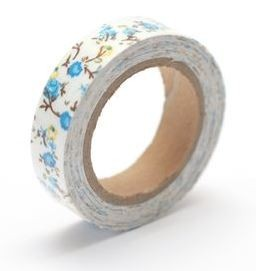ScrapBerry`s - Cotton Tape - Floral Print Nr. 22 - SCB490046