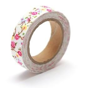 ScrapBerry`s - Cotton Tape - Floral Print Nr. 21 - SCB490045