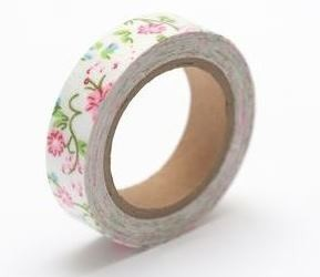 ScrapBerry`s - Cotton Tape - Floral Print Nr. 34 - SCB490039