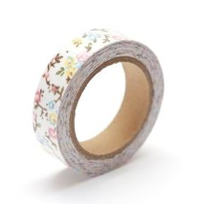 ScrapBerry`s - Cotton Tape - Floral Print Nr. 25 - SCB490038