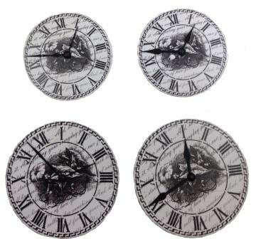 ScrapBerry`s - Embellishments - Set Of Clock - SCB341103