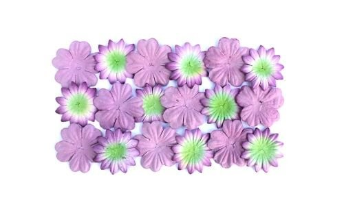 ScrapBerry`s - Mulberry Paper Flowers: Lavender - SCB300804