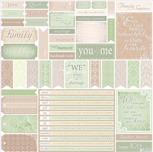 ScrapBerry`s - Scrapbook Papier - For Wedding Cards 1 - SCB220602625b