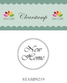 Dixi Craft - Clearstamp - New Home - STAMP0219