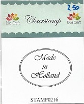 Dixi Craft - Clearstamp - Made in Holland - STAMP0216