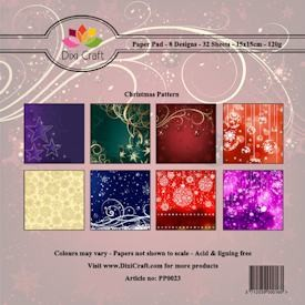 Dixi Craft - Paperpack - Christmas Pattern - PP0023