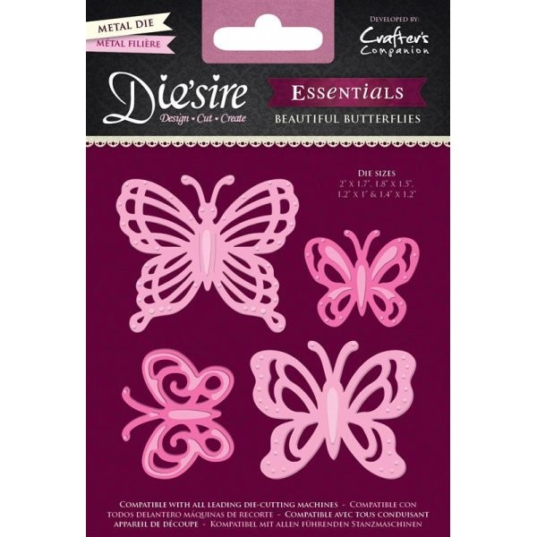 Die`sire - Die - Essentials - Beautiful Butterflies - DS-E-BFLY