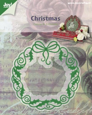 Joy! crafts - Die - Christmas - Krans