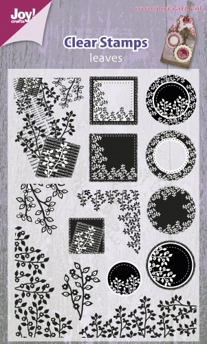 Joy! crafts - Clearstamp - Leaves - 6410/0329