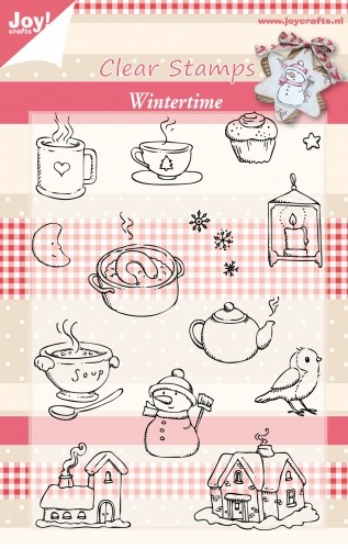 Joy! crafts - Clearstamp - Wintertime - 6410/0123