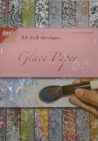 Joy! crafts - Paperpack - Glace paper - Flowers - 6013/0529