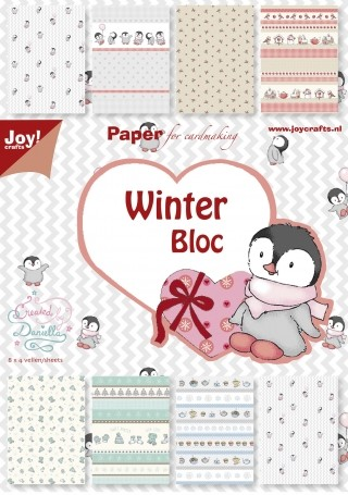 Joy! crafts - Paperpack - Winter - 6011/0046