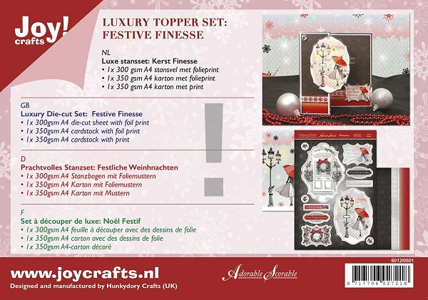 Joy! crafts - Kaartenpakket - Festive Finesse - 6012/0501