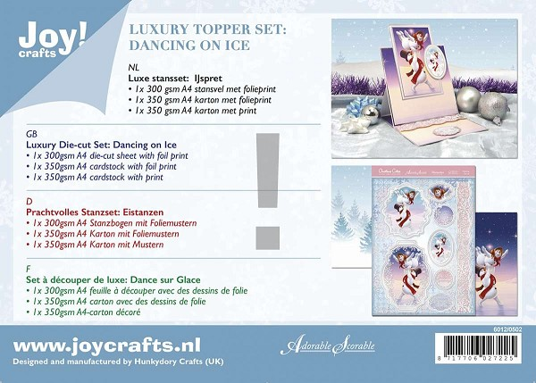 Joy! crafts - Kaartenpakket - Dancing on Ice - 6012/0502