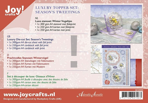 Joy! crafts - Kaartenpakket - Season`s Tweetings - 6012/0506