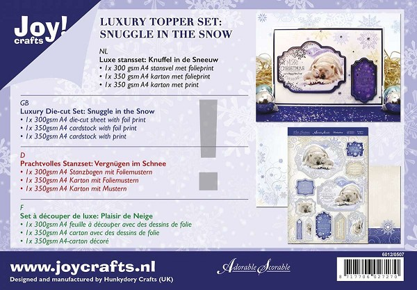 Joy! crafts - Kaartenpakket - Snuggle in the Snow - 6012/0507