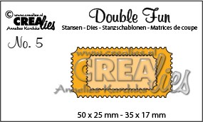 Crealies - Die - Double Fun - No. 05