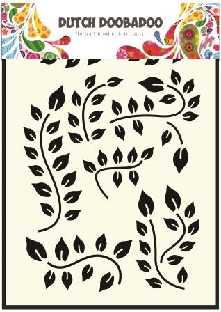Dutch Doobadoo - Maskingstencil - Leaves Branch - 470.715.033