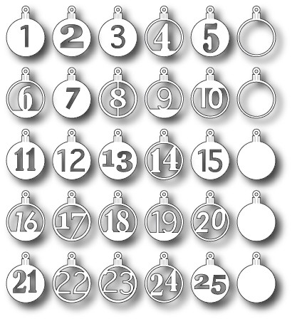 Memory box - Die - Advent Calender Set