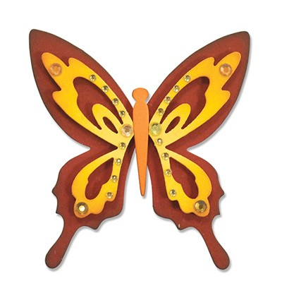Sizzix - Die - Thinlits - Butterfly