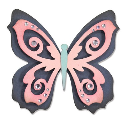 Sizzix - Die - Thinlits - Butterfly 2