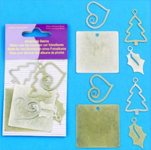 Hobby & Crafting Fun - Scrapbook Basics - Kerst - 11810-3002