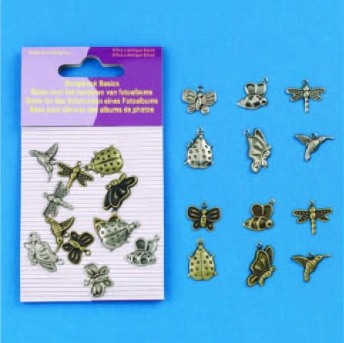 Hobby & Crafting Fun - Scrapbook Basics - Insecten - 11810-1002