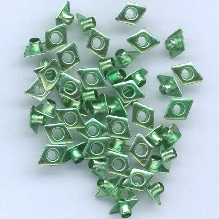 Hobby & Crafting Fun - Eyelets - Diamond: Groen - 12043-4344